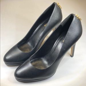 (p247) MICHAEL Michael Kors Leather Pump Black 8.5